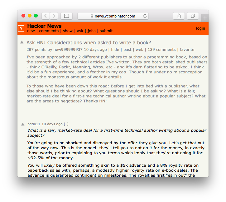 Visit the thread on Hacker News.